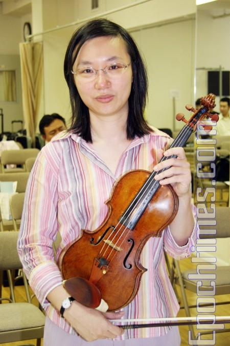 音乐学院助理教授﹕已为参赛准备一生