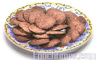 【幸福週末派】巧克力核桃餅乾