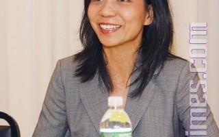 首席评委小提琴家林家绮女士(摄影:爱德华/大纪元)