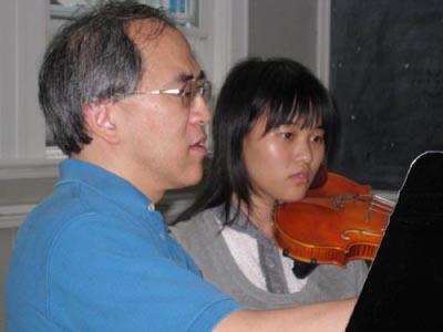 音乐大师提携 学子获益多