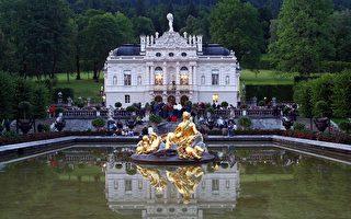 组图:德国浪漫林德霍夫宫
