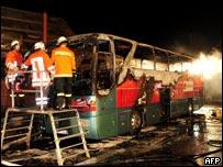 德国公路大巴火灾  恐20人遇难