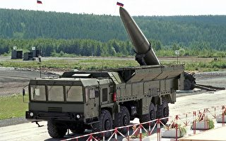 俄罗斯伊斯坎德尔(Iskander)短程导弹(EVGENY STETSKO/AFP/Getty Images)