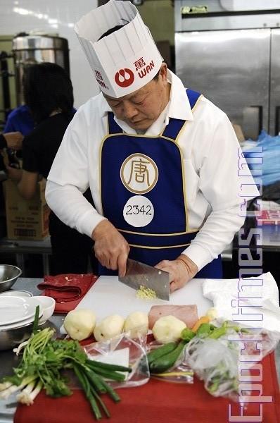 组图:中国菜厨技大赛——东北菜选手竞技