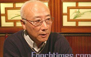 法国国际广播电台前中文部主任吴葆璋先生。(摄影:章乐/大纪元)