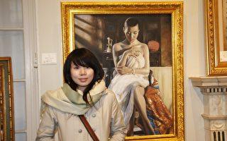 年轻画家以《念》表达复古思绪