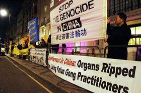 國際人權日各國法輪功積極反迫害