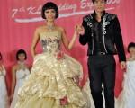2008年吉隆坡婚纱展中举办的婚纱秀。(图:HareNet Communications 提供)