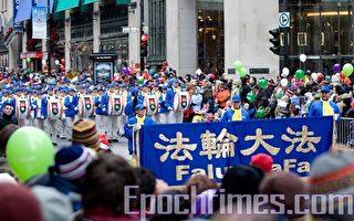 组图:天国乐团参加加国9城市圣诞游行