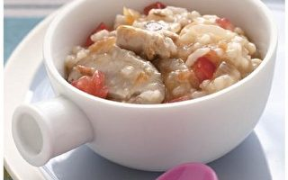 宝宝健康食谱(9):番茄鸡肉粥