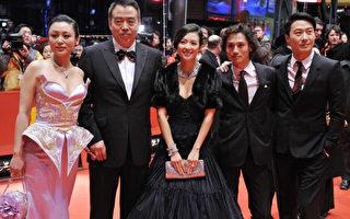 (由左至右)陳紅(Chen Hong) ,陳凱歌(Chen Kaige),章子怡(Zhang Ziyi), 安籐政信(Ando Masanobu), 黎明(Leon Lai)/AFP/Getty Images)