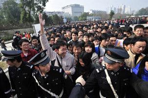 11地調查:中國應屆畢業生就業率為35.6%