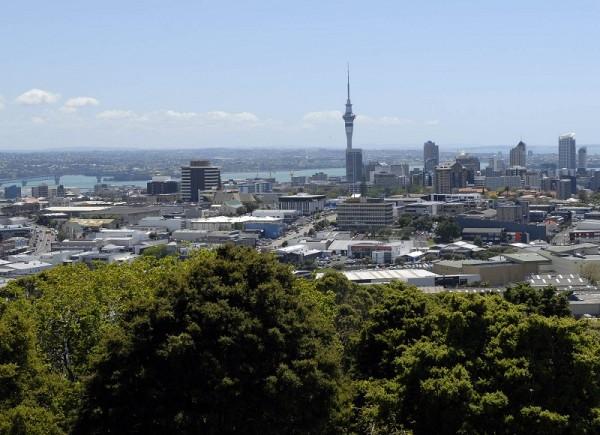 組圖:跟著神韻遊新西蘭第一城奧克蘭