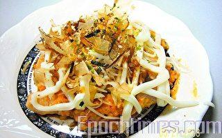 达人料理:日式泡菜大阪烧