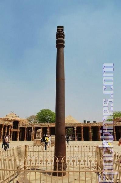【印度新德里洪法6】古文明-不銹铁柱