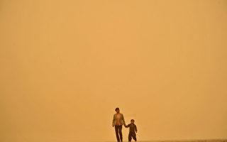 沙塵暴席卷大半中國 首次越南嶺颳到廣州