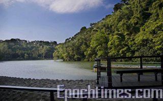 曾是兩蔣重要軍事基地後慈湖密境,五月一日起開放遊客參觀。(攝影:王仁駿/大紀元)