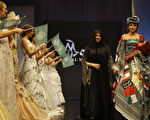 组图:黎巴嫩婚庆时装展