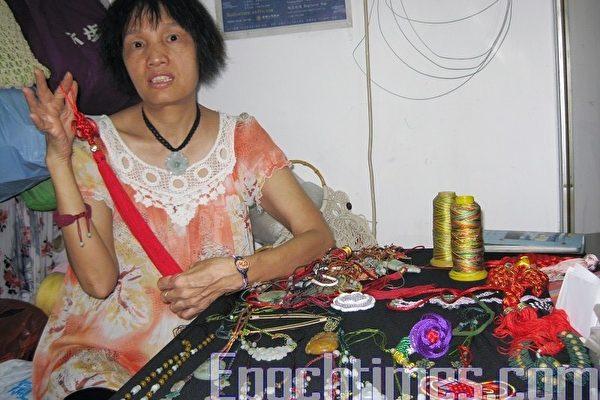 港織女推中國結工藝