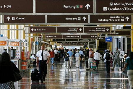 雷根华盛顿国家机场〈Ronald Reagan Washington National Airport〉(Chip Somodevilla/Getty Images)