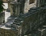 玛雅废墟部分。(Pablo PORCIUNCULA/ AFP)