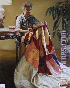 回歸傳統油畫寫實 好藝術品釋放純正能量
