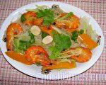 鮮蝦米粉(圖:梅芬/大紀元)