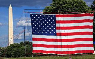 星條旗為美國國旗。(法新社)