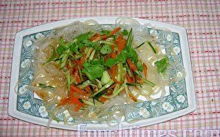 【健康轻食料理】凉拌三丝冰粉条
