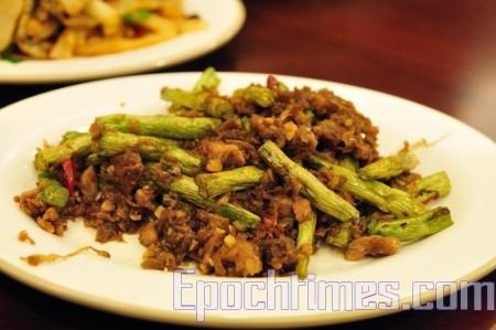 四季豆一年四季都可以吃到,是餐桌上常见菜肴。(苏玉芬/大纪元)