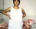 河北访民赵春红在软禁期间生下儿子,目前在医院被24小时监控,不能自由行动。(权利运动提供)