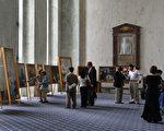 真善忍國際美展 在美國國會大樓引震撼