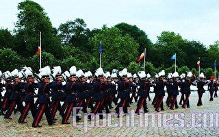 比利時在高度警戒下舉行國慶活動