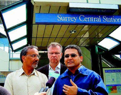 溫哥華素里男子捷運站遭劫 新民主黨籲增加警力