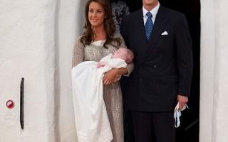 丹麥小王子受洗