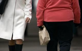 美国人太胖 美国政府增资抢救