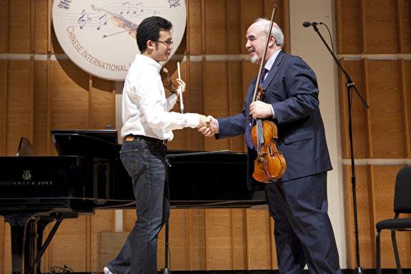 組圖:2009全世界華人小提琴大賽大師班