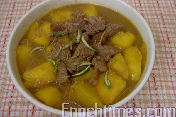 【健康輕食料理】芒果牛肉