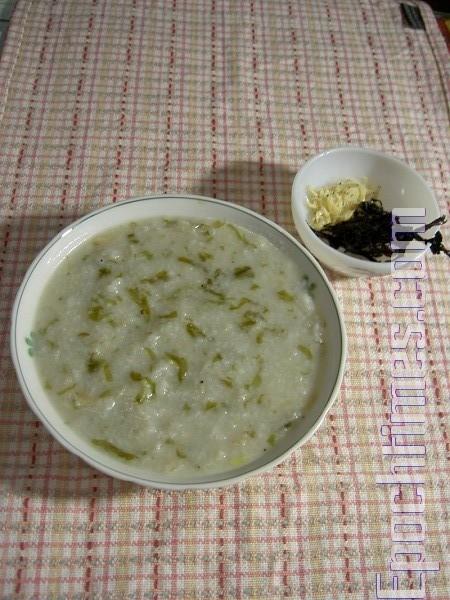 【健康輕食料理】蘿蔔紫菜蝦皮稀飯