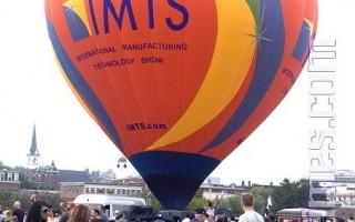 缅因州热气球节盛况。(摄影:徐明/大纪元)