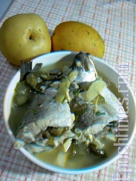 【健康輕食料理】鱸魚豆腐醬瓜湯