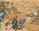 祝寿 神仙 中国画
