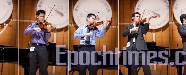 全世界華人小提琴大賽獲獎者談《梁祝》