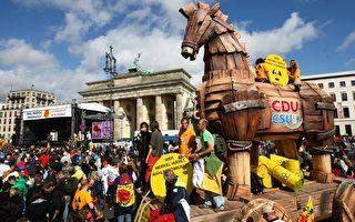 組圖:德國五萬人柏林集會反核能