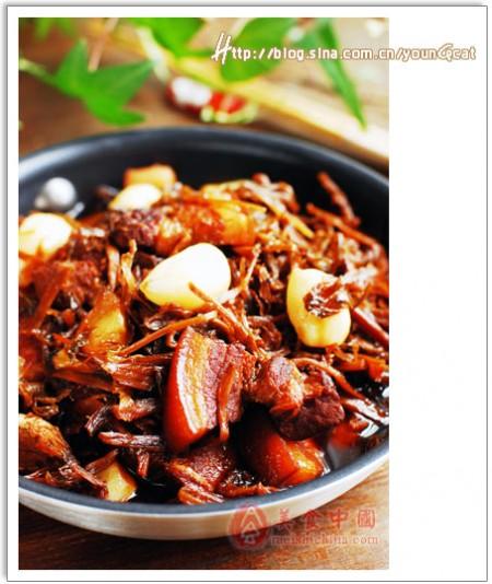 梅乾菜燒肉  梅乾菜雞翅