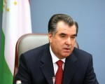 塔吉克总统拉克莫诺夫任命他的女儿欧佐妲.拉克莫诺夫为外交部次长。(PETRAS MALUKAS/AFP/Getty Images)