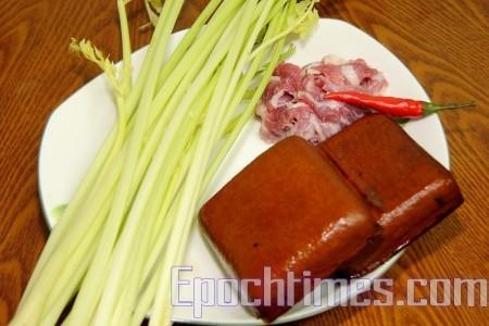 【緞妹美食坊】芹菜炒豆乾
