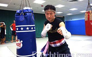 國際泰拳大師賀武術大賽成功