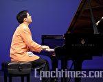 林品安剛滿16歲,學琴卻有12年了。10日參加新唐人鋼琴大賽複賽,與來自世界各地的選手同場競技,並順利入圍11日的決賽。(攝影﹕愛德華/大紀元)