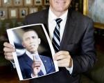 挪威诺贝尔奖评审会主席托尔比约恩.亚格兰宣布美国总统奥巴马获得2009年诺贝尔和平奖。(法新社)